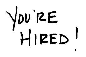 You're Hired !
